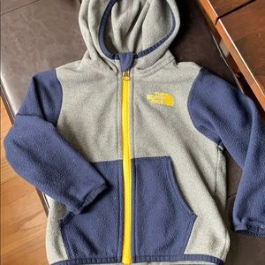 The North Face fleece jacket 12-18m